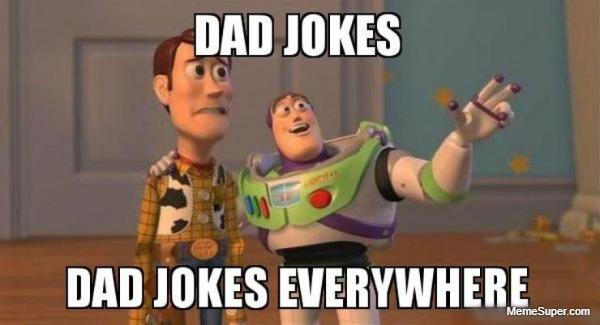 Dad jokes everywhere