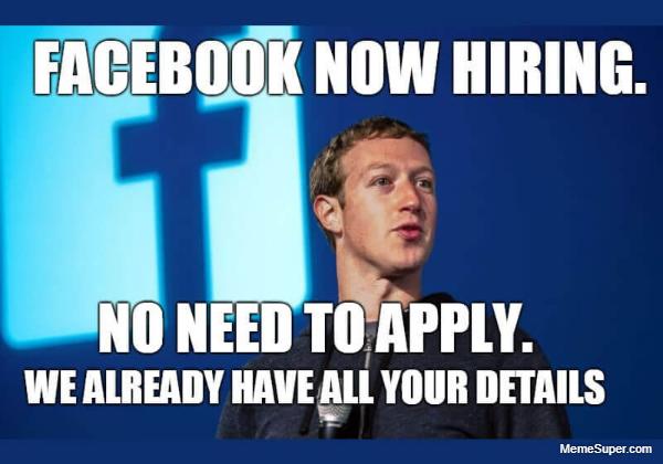 Facebook is now hiring!