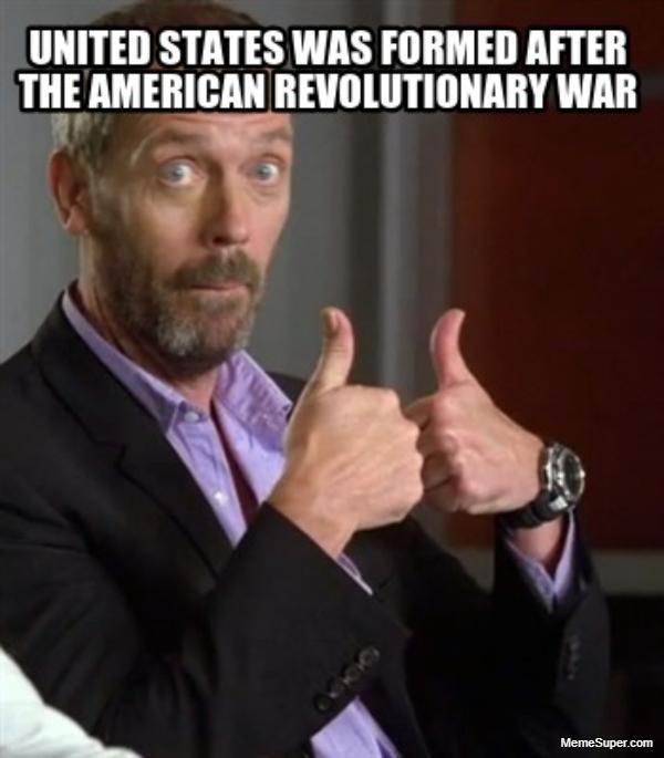 Friday Memes: American Revolutionary War