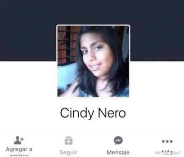 Friday Memes: Cindy Nero