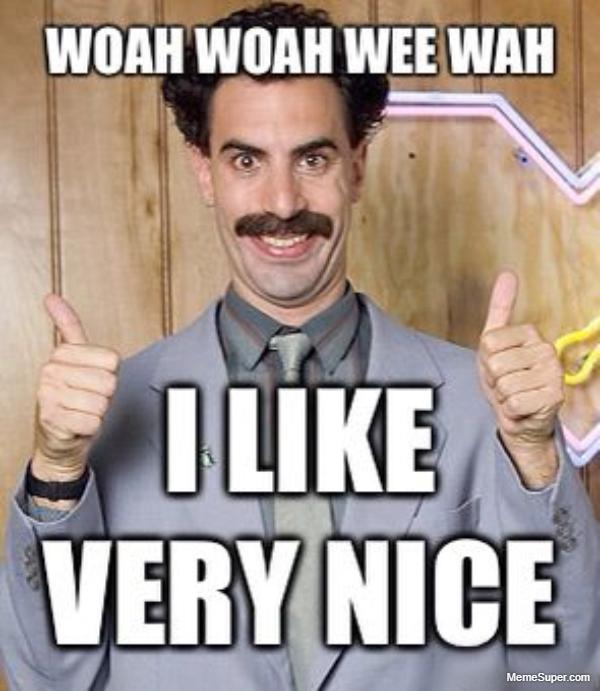 Friday Memes: I like, very nice!