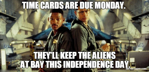 Friday Memes: Independence Day