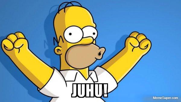 Happy Homer Juhu