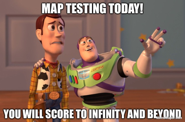 Map testing today!