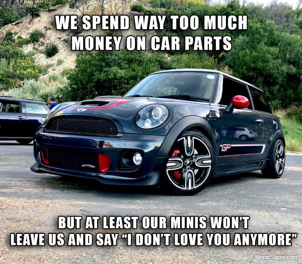 """Out mini's will never say """"I don't love you anymore""""."""