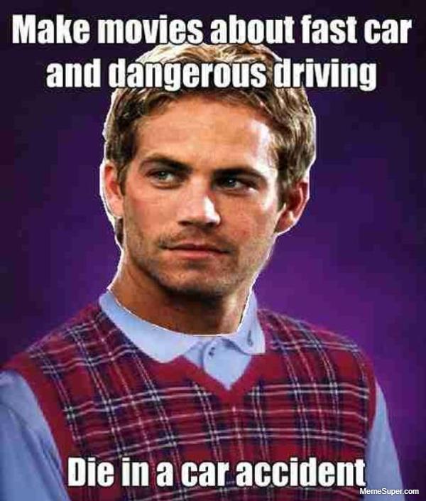 Paul Walker professional driver