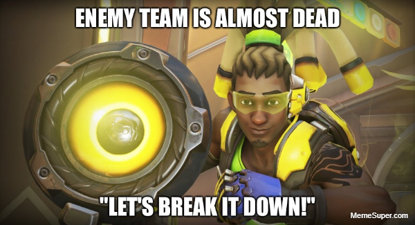 The enemy team is almost dead...