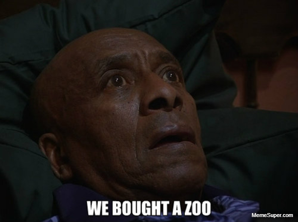 We bought a Zoo.